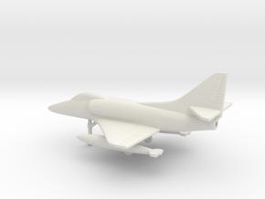Douglas A-4E Skyhawk in White Natural Versatile Plastic: 1:200