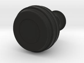 SERIPPY VASE  in Black Natural Versatile Plastic: Medium