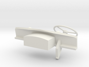 Dash-LHD-1to16 in White Natural Versatile Plastic