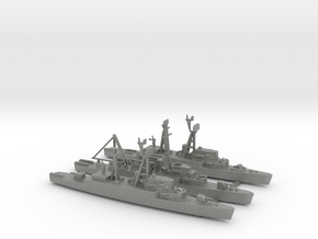 1/1800 Scale DER x 2 APD x 1 in Gray PA12