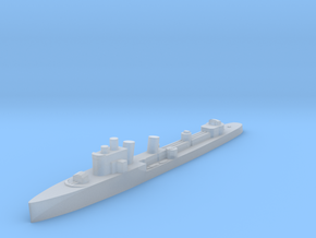 Italian Aquilone destroyer WW2 1:1800 in Smoothest Fine Detail Plastic