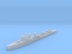 Italian Aquilone destroyer WW2 1:3000 in Smoothest Fine Detail Plastic
