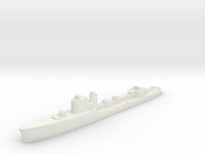 Italian Altair Torpedo boat 1:2400 WW2 in White Natural Versatile Plastic