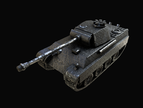 Tank - Panther G - size Large in Polished and Bronzed Black Steel