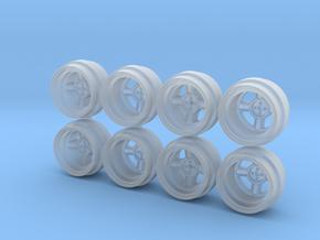 Pandem Trakyto 4 Spoke Hot Wheels Rims in Smoothest Fine Detail Plastic