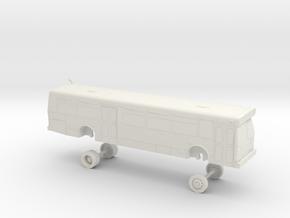 HO Scale Bus Orion V Everett B0106-B0111 in White Natural Versatile Plastic