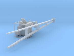 1/100 DKM Scharnhorst Boat Crane KIT in Smooth Fine Detail Plastic