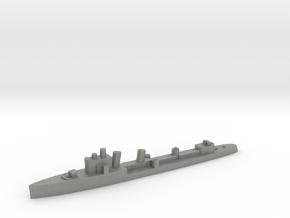 Italian Euro destroyer WW2 1:2400 in Gray PA12