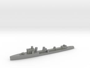 Italian Euro destroyer WW2 1:3000 in Gray PA12