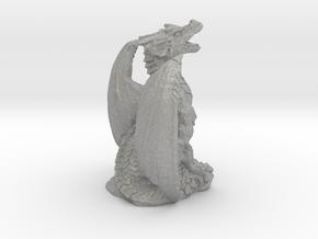 Magnificent Dragon Home Decoration RPG Miniature in Aluminum