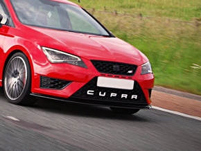 Cupra Lower Grill Letters - Full Set in White Natural Versatile Plastic