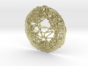 CHAOS e ring 01 in 18K Yellow Gold: Small
