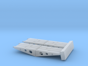Vehicle ramps for C-130 Hercules (Italeri 1/48) in Smoothest Fine Detail Plastic
