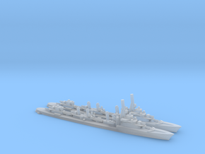 French Aigle-Class Destroyer in Smooth Fine Detail Plastic: 1:1800