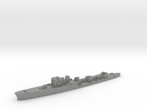 Italian Uragano torpedo boat 1:2400 WW2 in Gray PA12