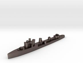 Italian Borea destroyer 1:1800  WW2 in Polished Bronzed-Silver Steel