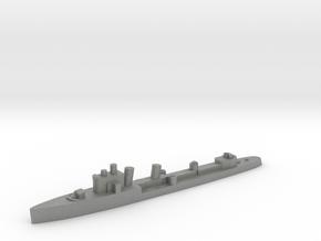 Italian Borea destroyer 1:2400 WW2 in Gray PA12