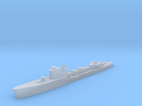 Italian Vega torpedo boat 1:2400 WW2 in Smoothest Fine Detail Plastic