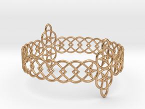 Bracelet in Polished Bronze