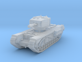 Churchill IV 95mm gun 1/200 in Smooth Fine Detail Plastic