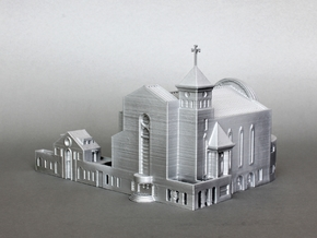 Suseo Cathedral (Unpainted) in White Natural Versatile Plastic