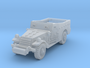 M3A1 Scoutcar early 1/120 in Smooth Fine Detail Plastic