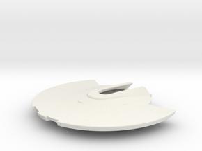 1/1400 USS Shangri-La Saucer in White Natural Versatile Plastic