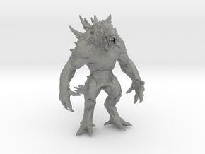 Goliath Monster DnD 1/60 miniature for games & rpg in Gray PA12