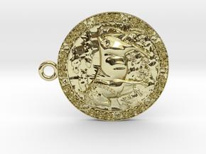 Taurus-Medaillon in 18K Yellow Gold