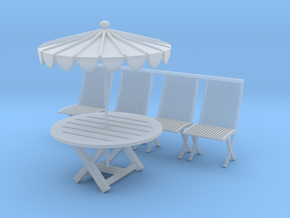 Printle Thing Picnic Set - 1/48 in Smooth Fine Detail Plastic