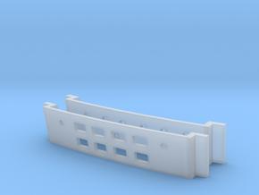1/537 Rec Deck Window Inserts in Smooth Fine Detail Plastic
