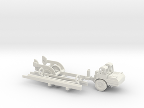 1/160 Scale MGM-5 Corporal Missile and Transporter in White Natural Versatile Plastic