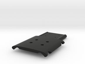 Cross Rc Demon Skid Plate V1 in Black Natural Versatile Plastic