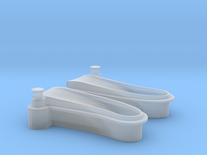 1/87 USN Windlass Foredeck Set in Smooth Fine Detail Plastic