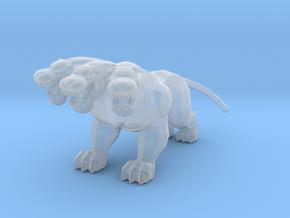 Hercules Cerberus guardian DnD miniature games rpg in Smooth Fine Detail Plastic