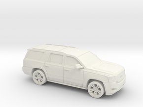 1/72 2013-19 GMC Yukon in White Natural Versatile Plastic