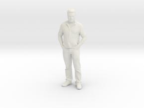 Printle C Homme 259 - 1/25 - wob in White Natural Versatile Plastic