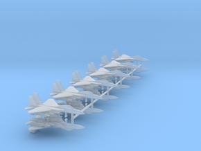 1/700 F-15E Strike Eagle (Strike Loadout) (x12) in Smooth Fine Detail Plastic