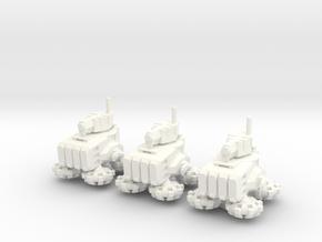 6mm - Urban Hover Tankett in White Processed Versatile Plastic