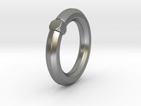 Octavius Ochuko - Ring in Natural Silver: 6 / 51.5