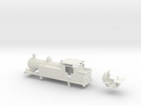 LBSCR Early SR E4-X  in White Natural Versatile Plastic