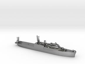 USS Currituck seaplane tender 1:1800 WW2 in Natural Silver