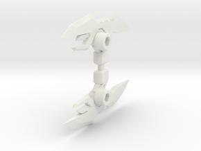TFP deluxe Arcee blades in White Natural Versatile Plastic