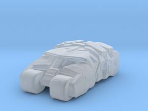 Batmobile Tumbler MICRO in Smooth Fine Detail Plastic