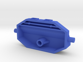 Jetter 1 Bracket in Blue Processed Versatile Plastic