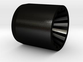 KRCNC1 side plugs in Matte Black Steel