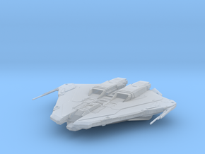 Krait MK2: Elite Dangerous in Smooth Fine Detail Plastic: 1:2000