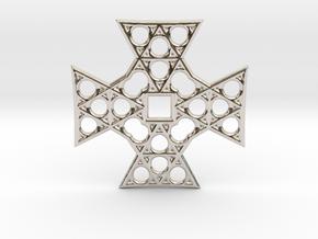 Cross in Platinum