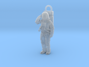 Fine Detail Neil or Buzz A7L SpaceSuit Pendant in Smoothest Fine Detail Plastic