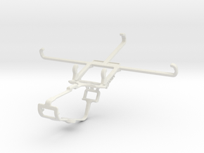 Controller mount for Xbox One & LG Stylo 5 in White Natural Versatile Plastic